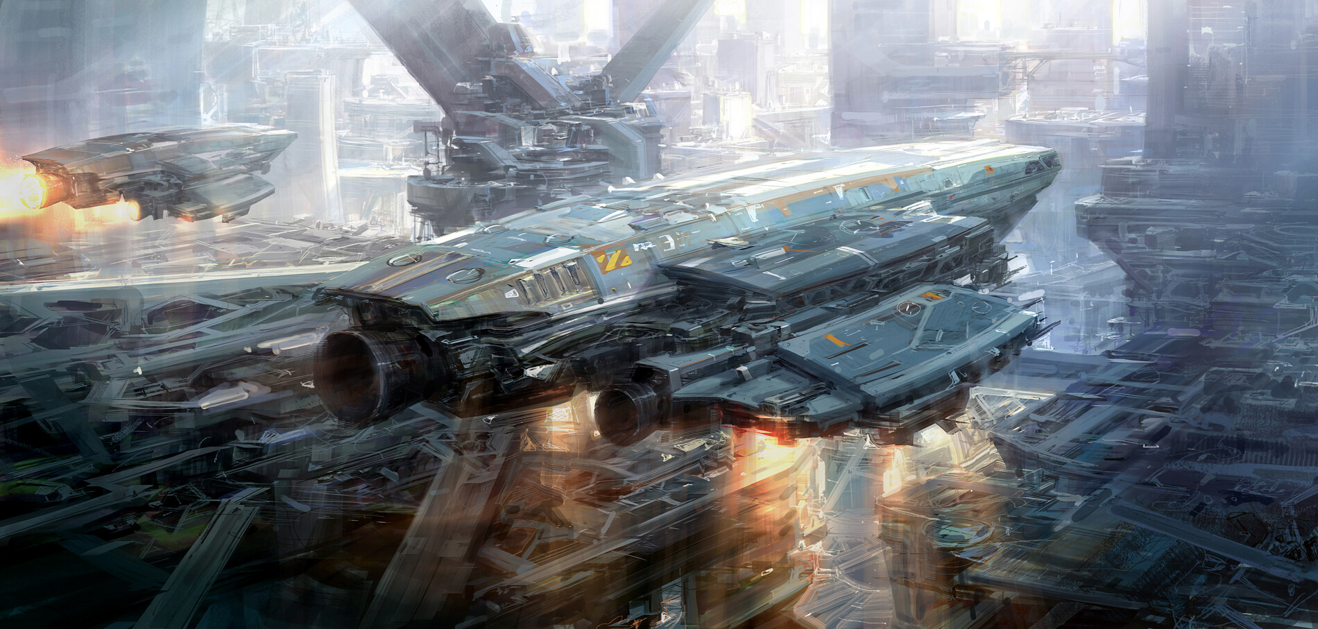 The Sci-Fi Art of Jae Cheol Park aka Paperblue