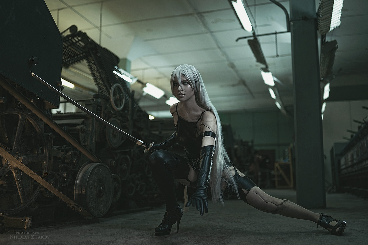 Nier Automata Cosplay Photography by Nikolay Zharov