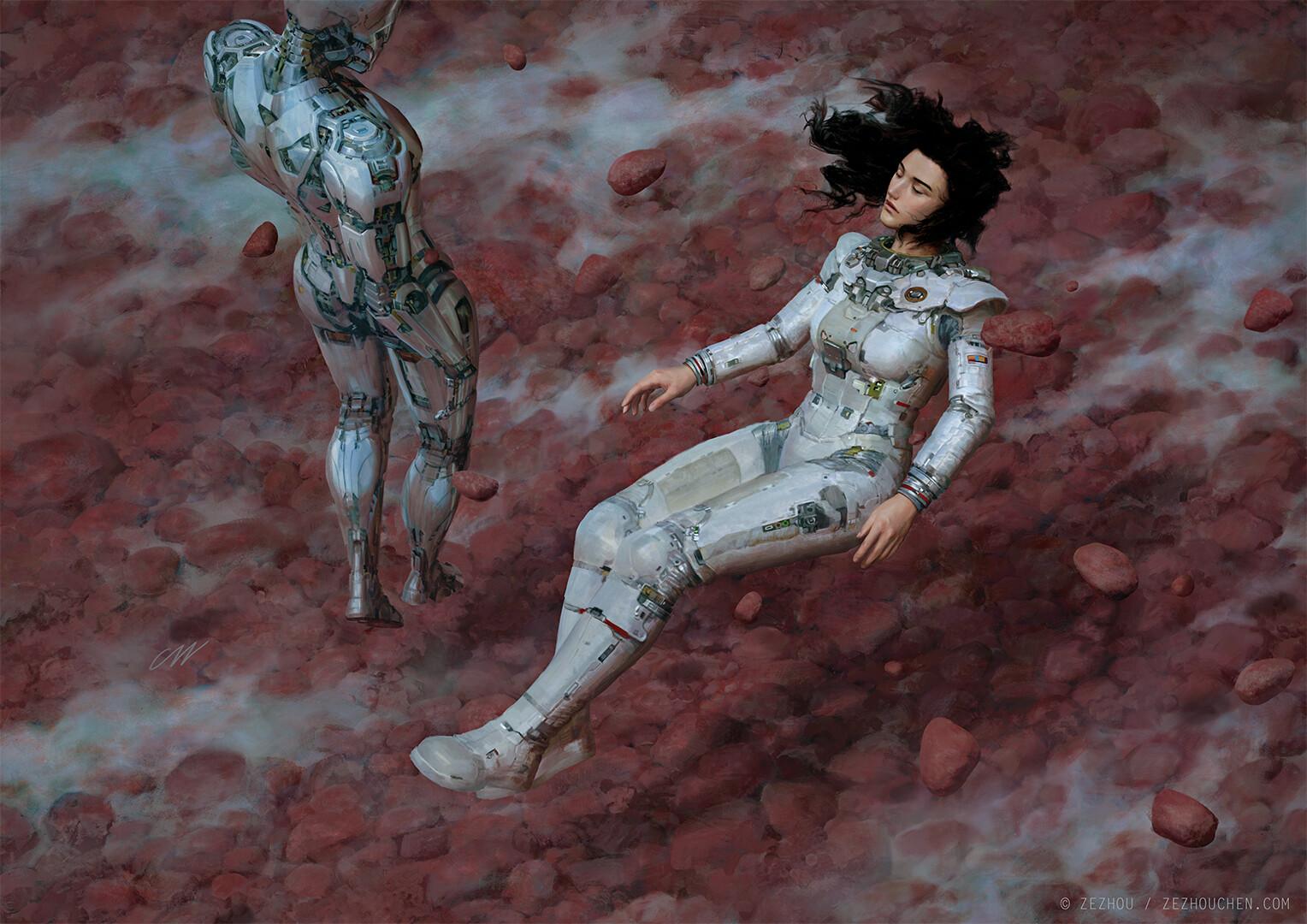 The Sci-Fi & Fantasy Art of Zezhou Chen