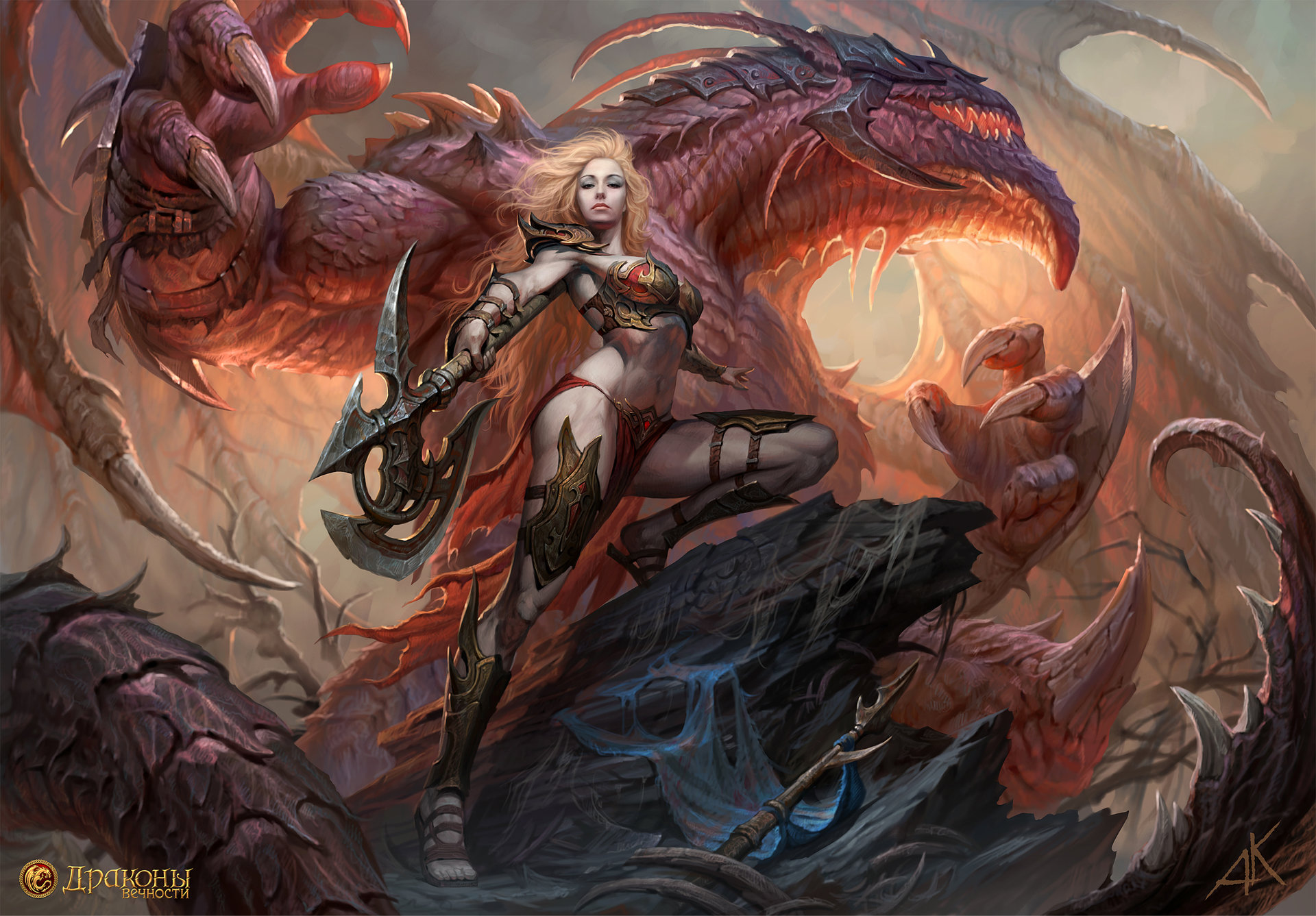 The Amazing Fantasy Artworks of Andrew Kuzinskiy