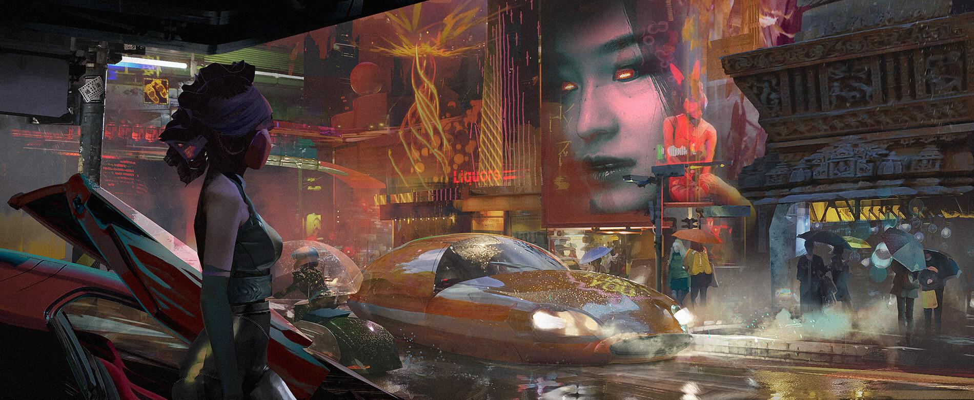 The Amazing Science Fiction Art of Daniel Romanovsky