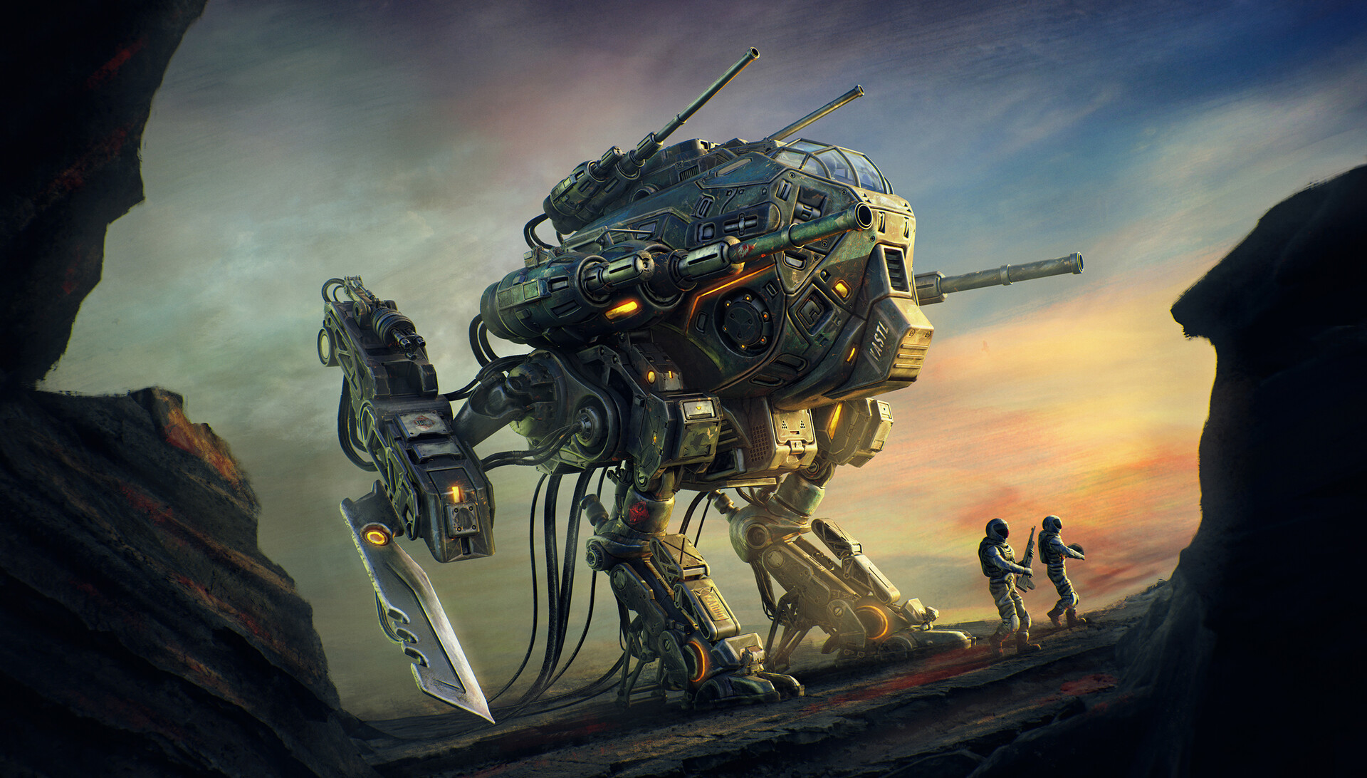 Sci-Fi Artworks by Mohamed Reda